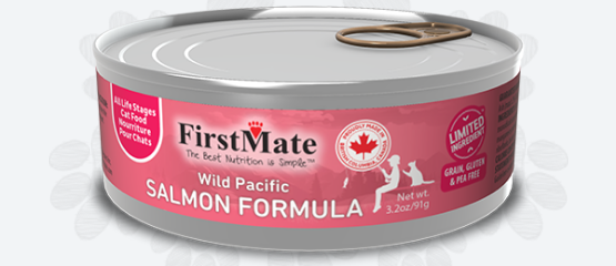 First Mate Limited Ingredient Wild Pacific Salmon Wet Cat Food