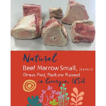All Provide Raw Frozen Small Beef Marrow Bones - 6 pcs