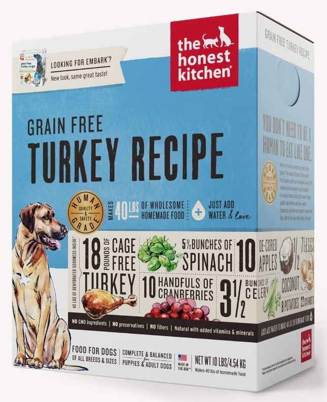 the honest kitchen Dehydrated - Grain Free Turkey Recipe (Embark)