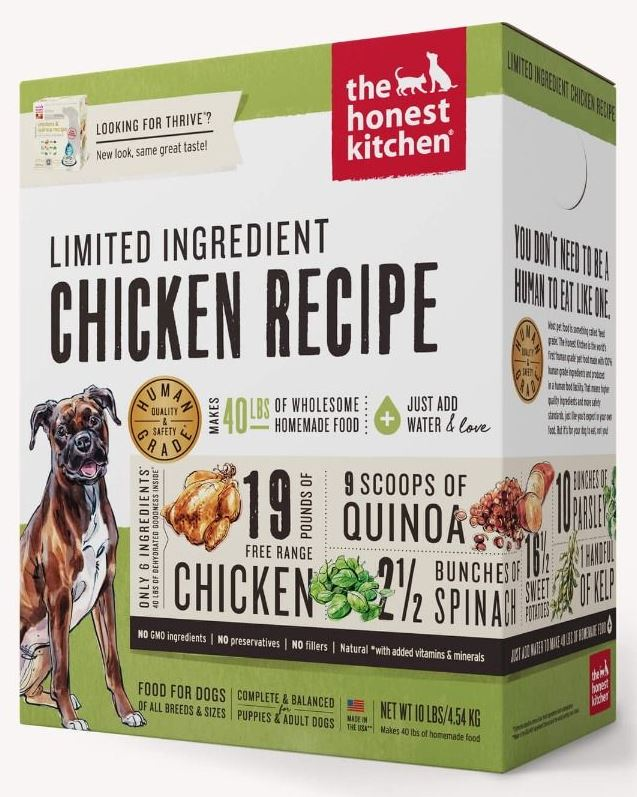 the honest kitchen Dehydrated - Limited Ingredient Chicken Recipe (Thrive)
