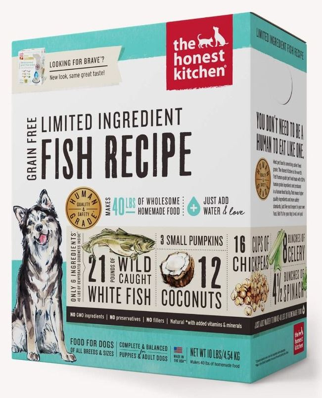 the honest kitchen Dehydrated - Limited Ingredient Fish Recipe (Brave)