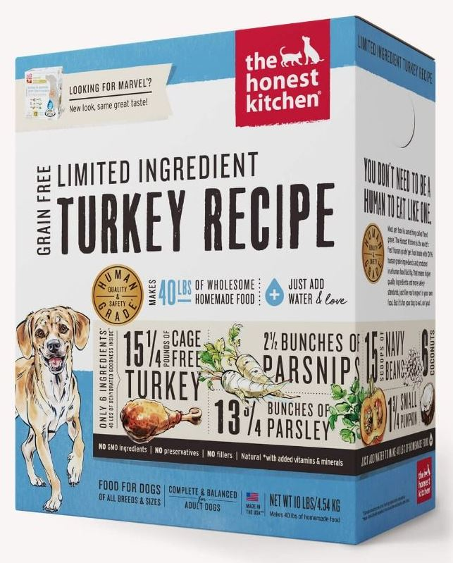 the honest kitchen Dehydrated - Limited Ingredient Turkey Recipe (Marvel)
