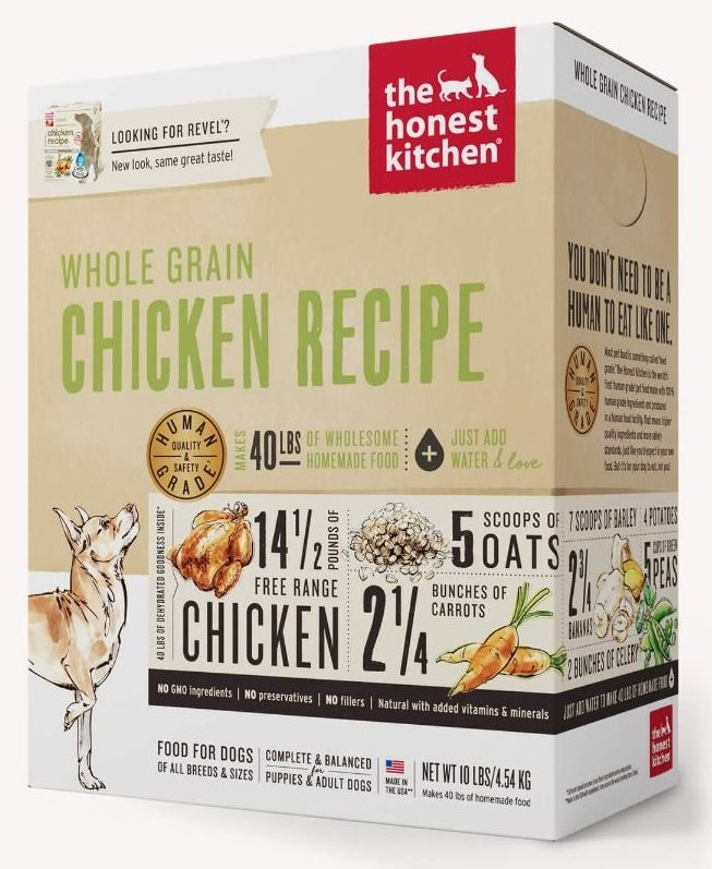 the honest kitchen Dehydrated - Whole Grain Chicken Recipe (Revel)