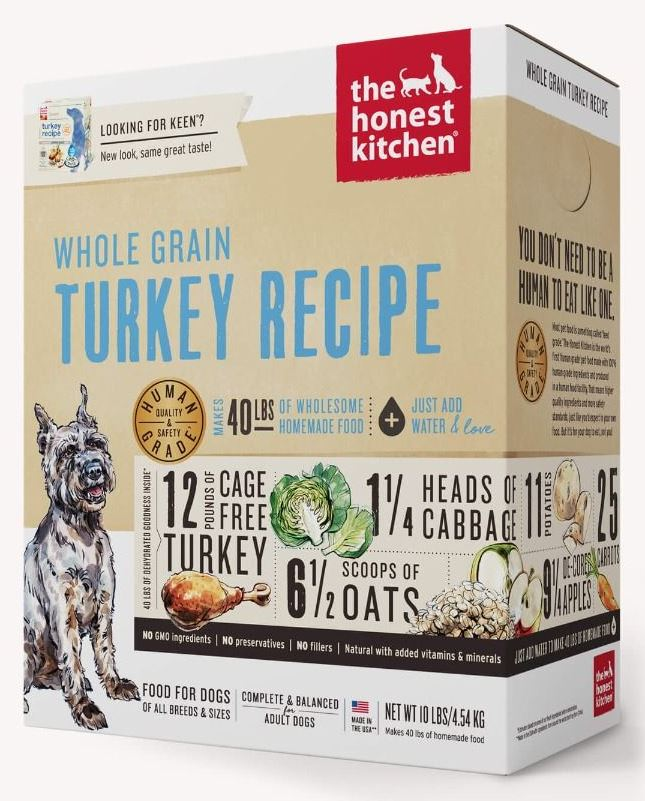 the honest kitchen Dehydrated - Whole Grain Turkey Recipe (Keen)