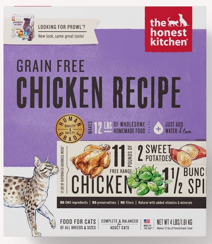 the honest kitchen Dehydrated - Grain Free Chicken Recipe (Prowl) Cat Food