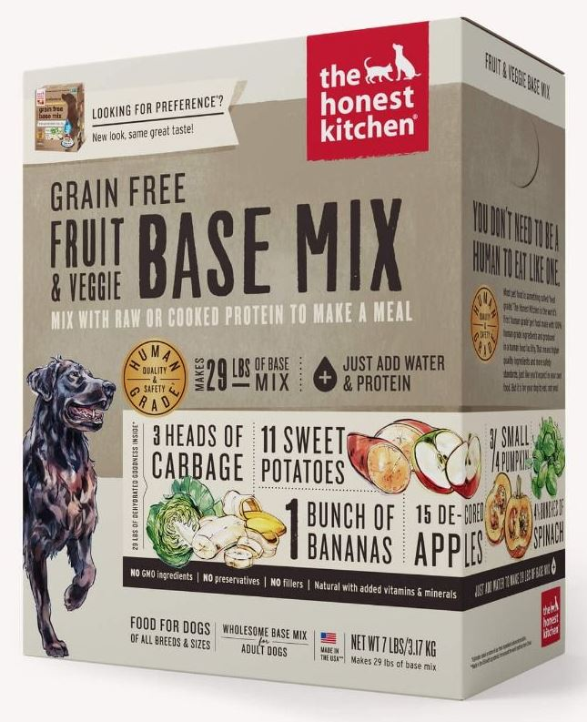 the honest kitchen Dehydrated - Grain Free Fruit & Veggie Base Mix (Preference)
