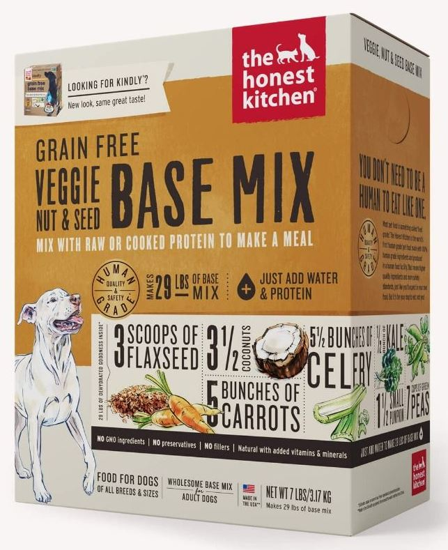 the honest kitchen Dehydrated - Grain Free Veggie, Nut & Seed Base Mix (Kindly)