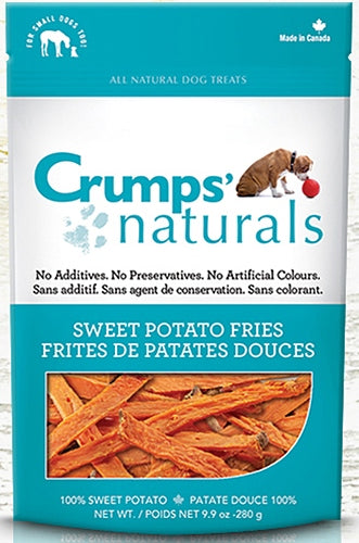 Crumps Naturals Sweet Potato Fries Dog Treats
