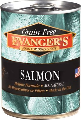 Evanger's Grain Free Salmon Dog Food - 12.8 oz