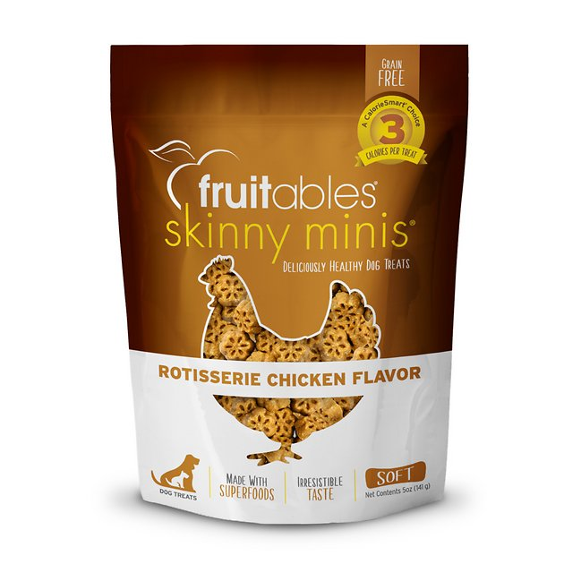 Fruitables Skinny Minis Rotisserie Chicken Flavor Dog Treat - 5 oz.