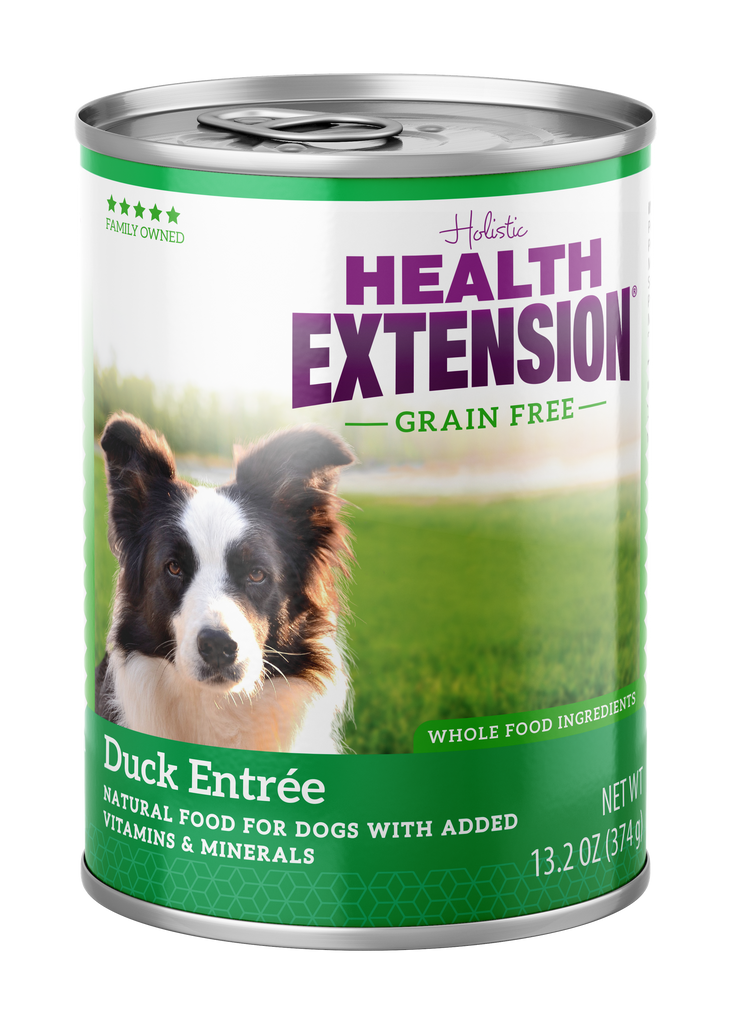 Health Extension Holistic Duck Entree Canned Dog Food - 13.2 oz.