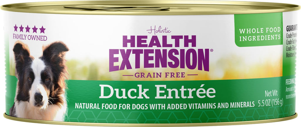 Health Extension Holistic Duck Entree Dog Food - 5.5 oz.