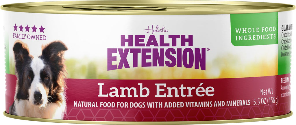 Health Extension Holistic Lamb Entree Canned Dog Food - 5.5 oz.