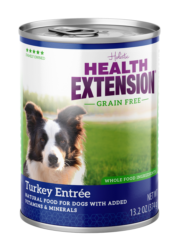 Health Extension Holistic Turkey Entree Canned Dog Food - 13.2 oz.