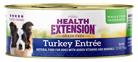 Health Extension Holistic Turkey Entree Canned Dog Food - 5.5 oz.