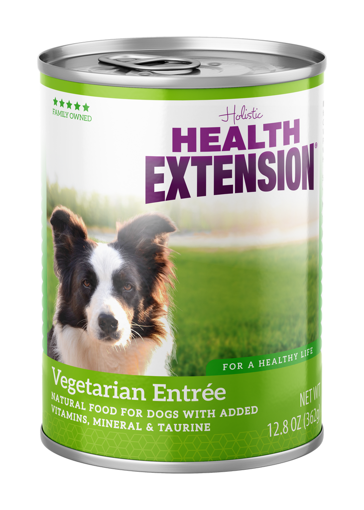 Health Extension Holistic Vegetarian Entree Canned Dog Food - 13.2 oz.