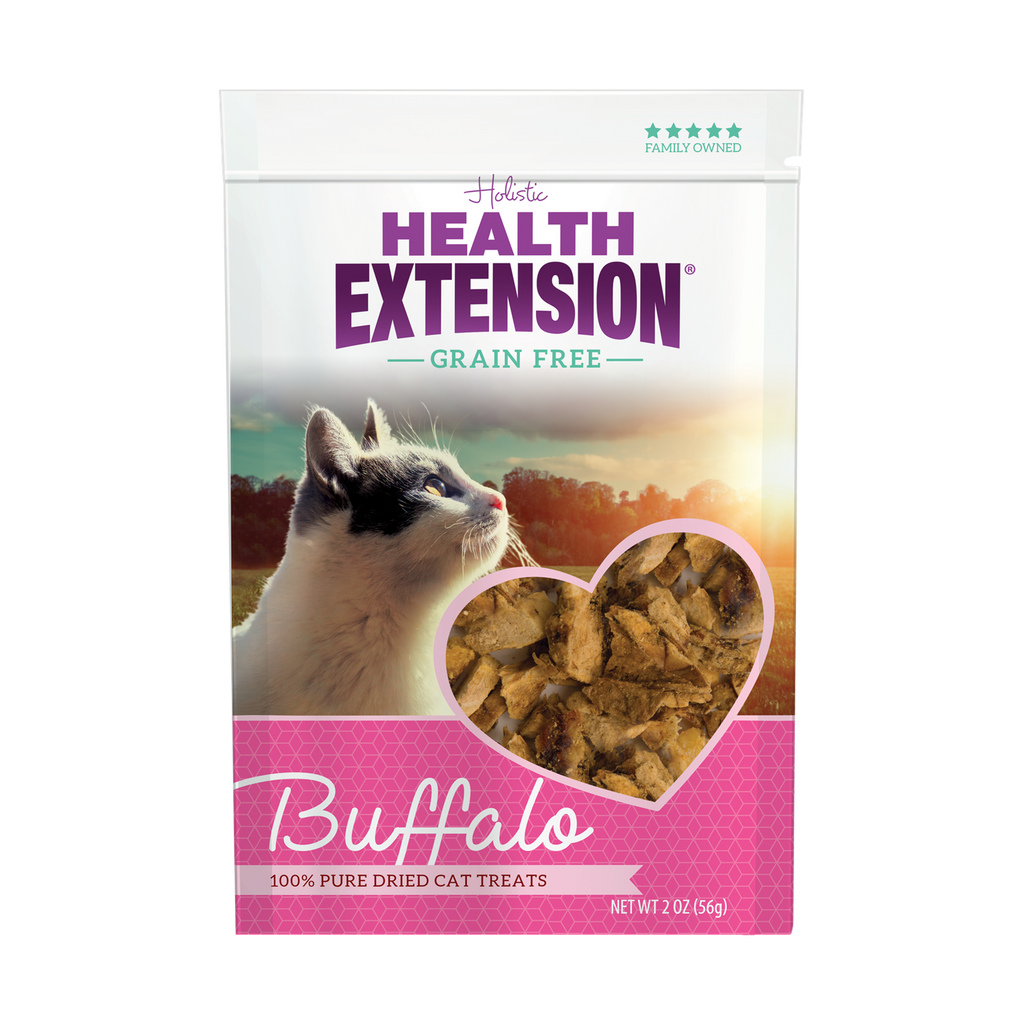Health Extension Grain Free Freeze Dried Buffalo Cat Treats - 2.0 oz
