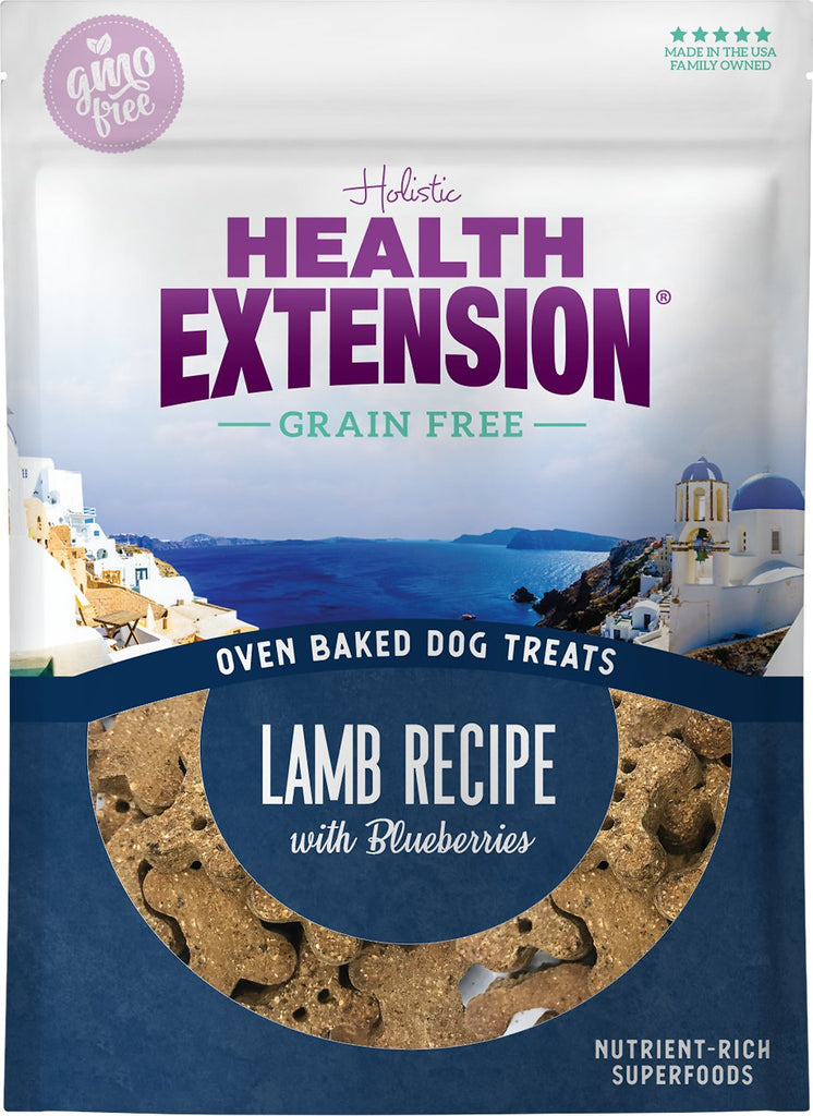 Health Extension Grain Free Lamb with Blueberries Dog Treats - 2.25 lbs