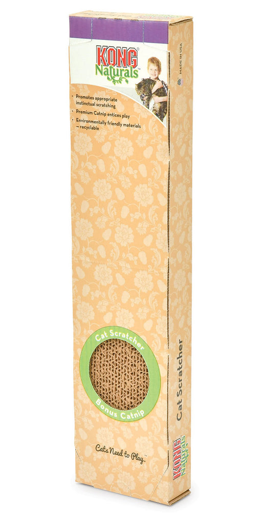 KONG Naturals Single Cat Scratcher with Catnip