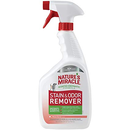 Nature's Miracle Pet Stain & Odor Remover Melon Burst Scent - 32 fl oz Trigger Sprayer