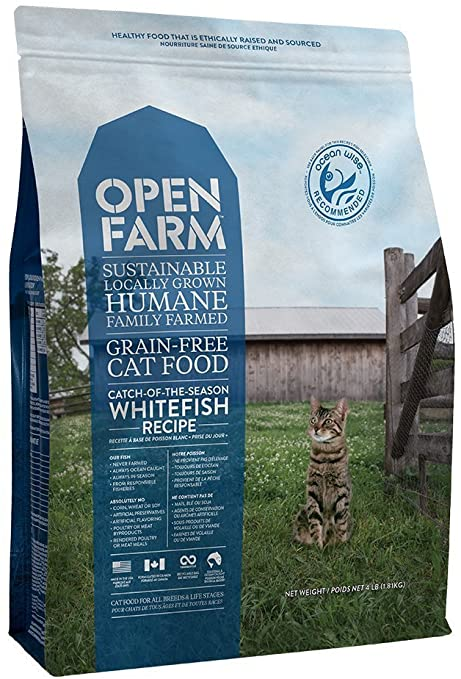 Open Farm Catch-of-the-Season Whitefish Dry Cat Food