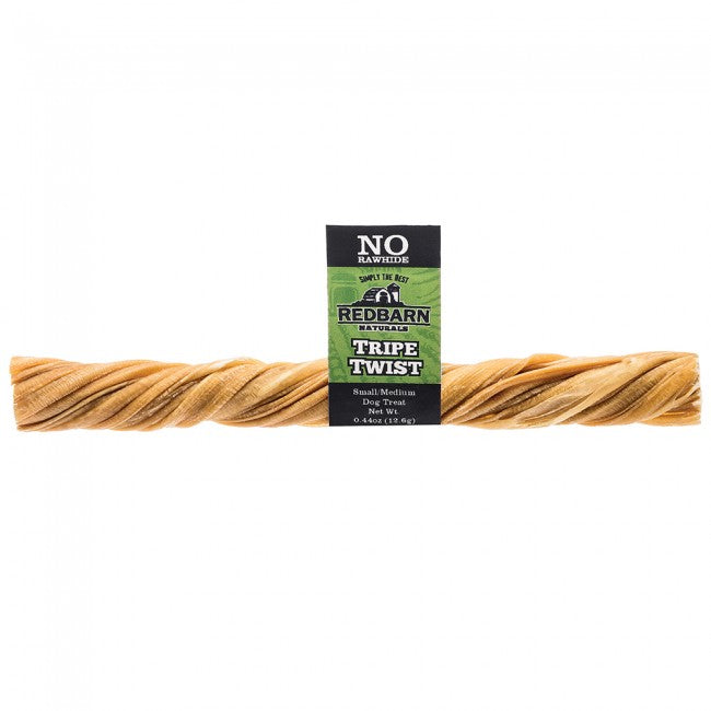 RedBarn Naturals Tripe Twist Stick Dog Chew Treat - Sml/Med Dog