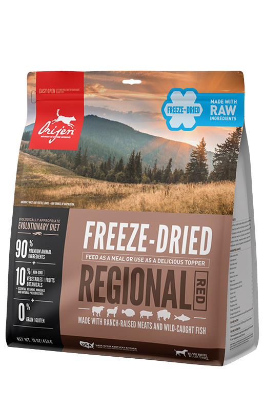 Orijen Regional Red Dog Freeze Dried Food