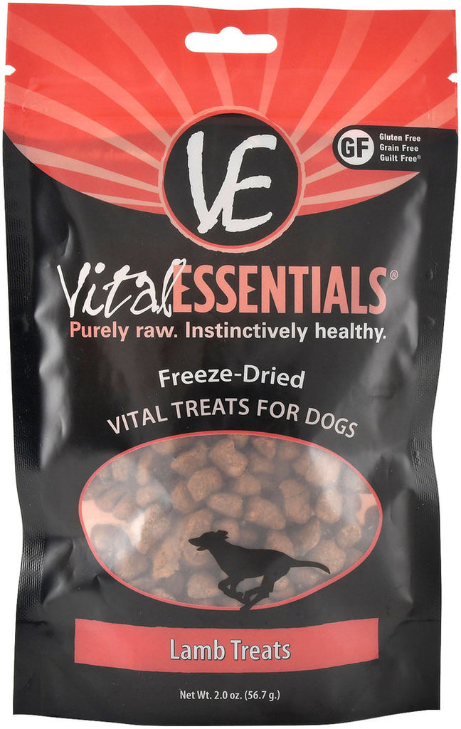 Vital Essentials Freeze Dried Lamb Dog Treat - 2.0 oz