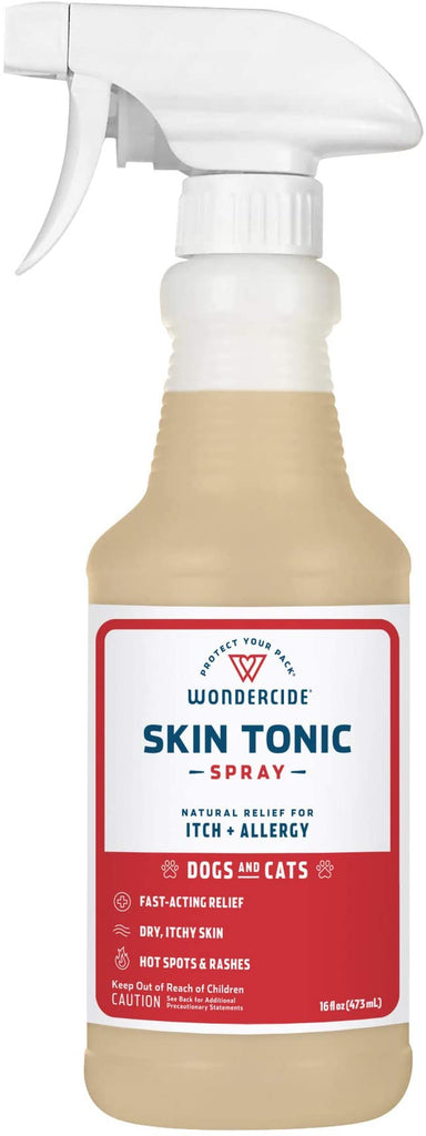Wondercide Skin Tonic Spray for Dogs and Cats - 16 fl oz