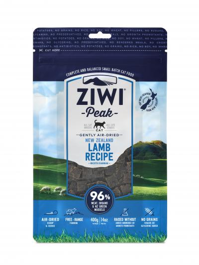 Ziwi Peak Gently Air-Dried New Zealand Lamb Cat Food - 14 oz