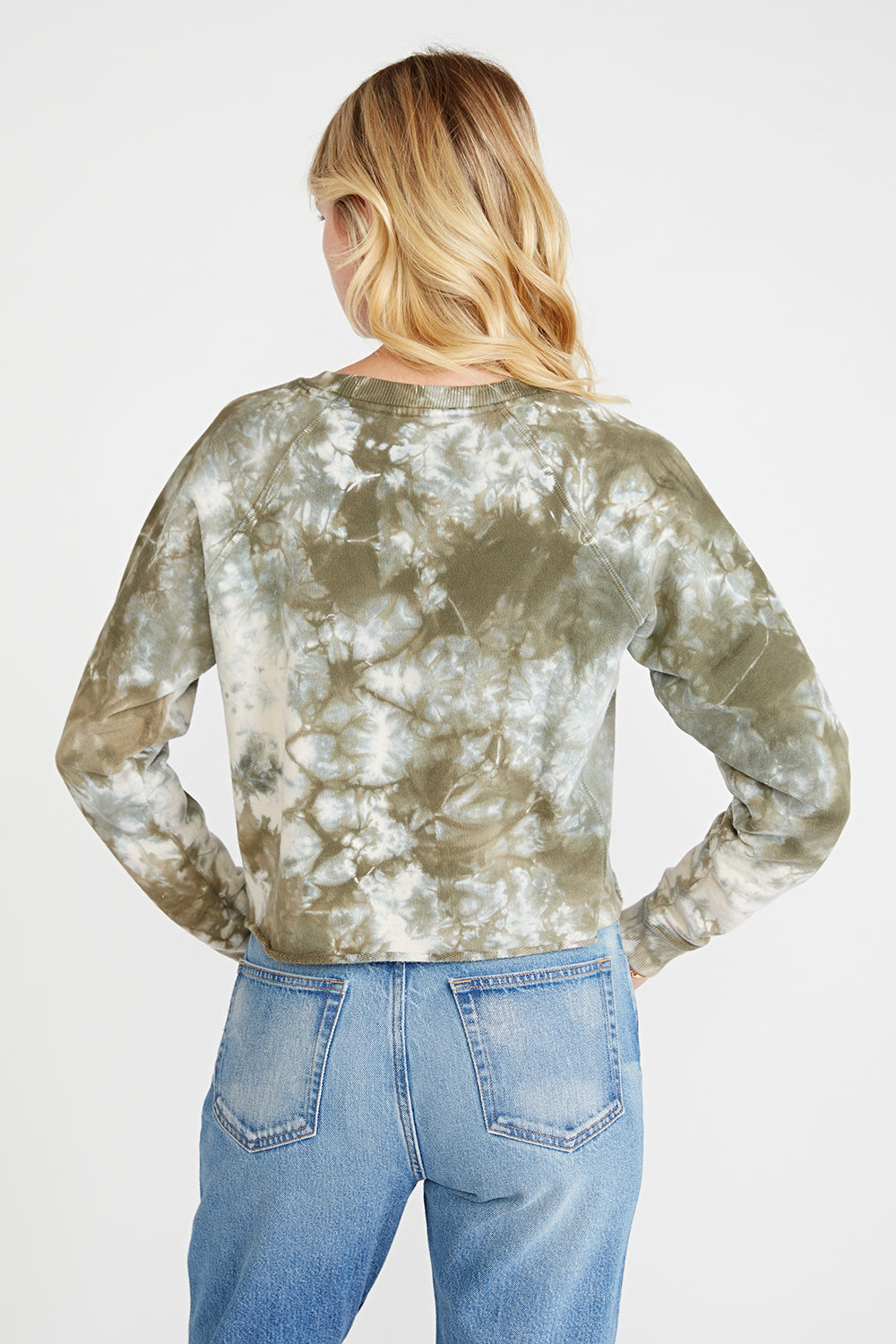 Yara Sweatshirt - Surplus Tie Dye