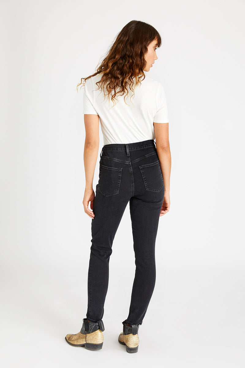 Giselle Mid Rise Skinny - Archangel Falls