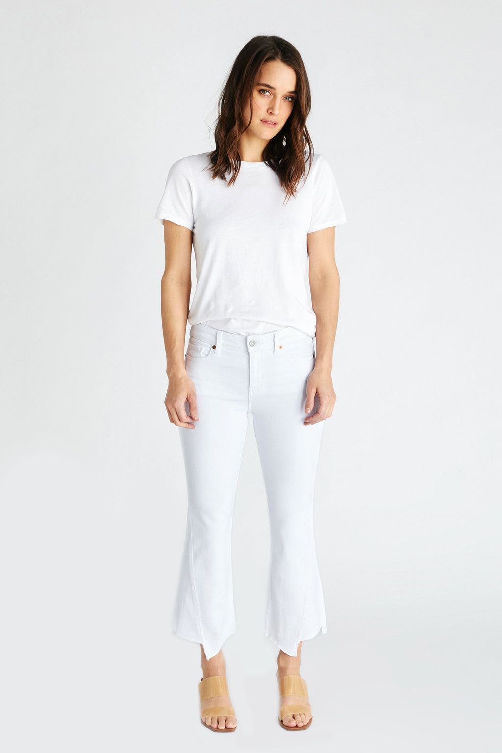 Micki Crop - White Dawn