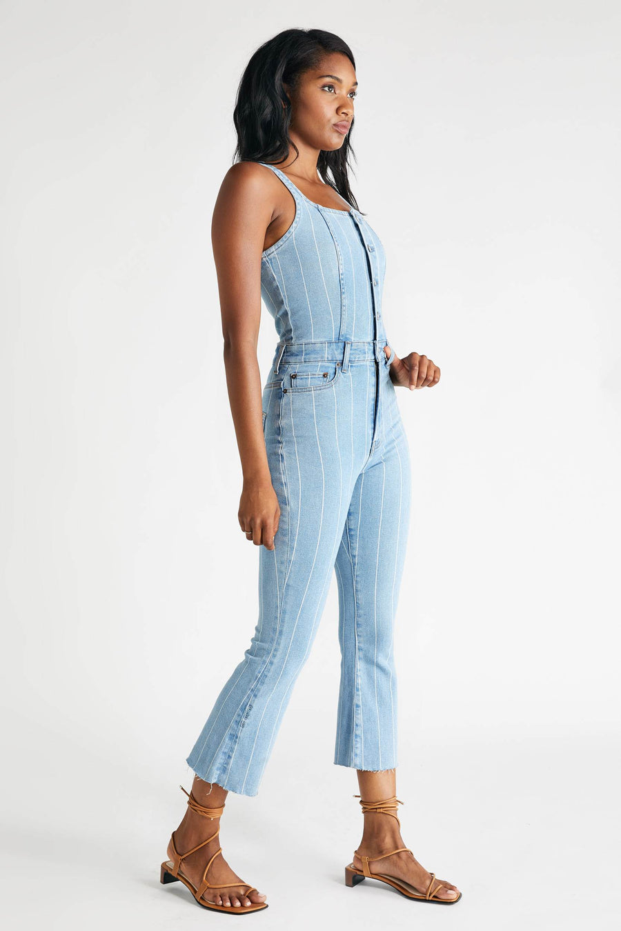 Ivy Jumpsuit - Mill Creek Stripe