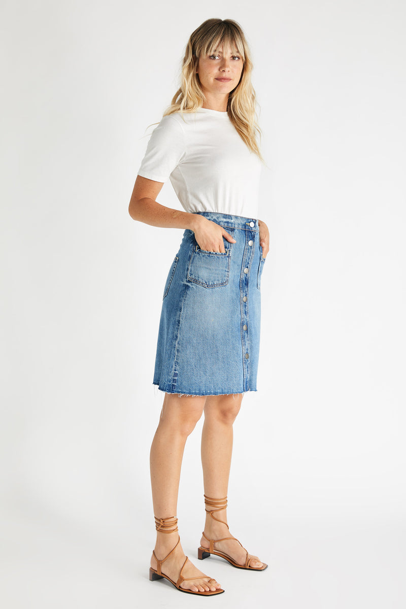 Sophia Skirt - Fleetwood