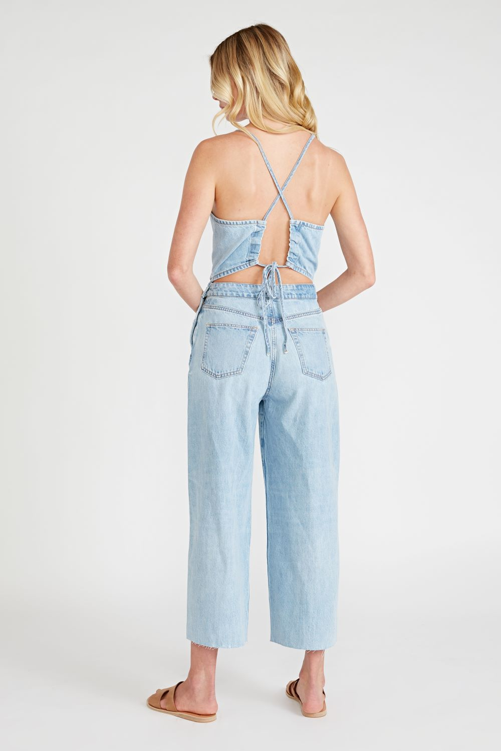 Cami Halter Jumpsuit - Quartz Creek