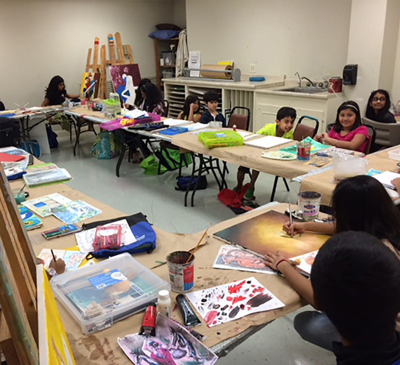 Art Classes in Houston | Art Classes for Children in Houston