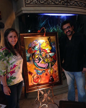 Contemporary Indian Artist Houston