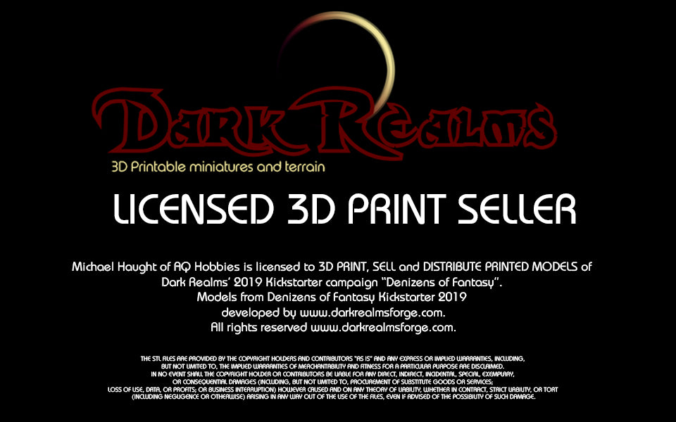 Dark Realms - Licenced Printer