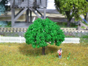 "BDT Trees 10011060 - All Scale - Plastic Fine Mid Green 2.3"" 10/pk"