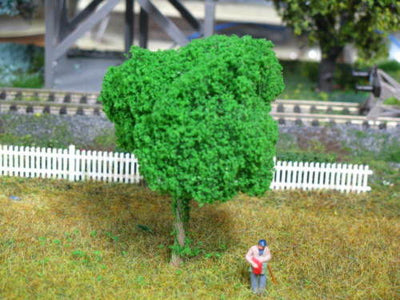 BDT Trees 10027080 - All Scale - Wire Fine Light Green 3