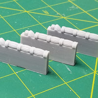 Hero's Hoard - HH198 - Library Study - Shelf Decorative Divider - 28mm