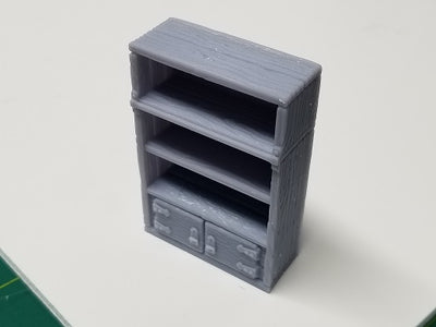 Hero's Hoard - HH160 Series - Library Study - Tall Shelves- 28mm