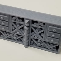 Hero's Hoard - HH150 Series - Library Study - Standard Wide With Divider - 28mm