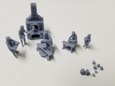 Evocatus - EV010 - Potters Set - 28mm