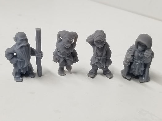 Dark Realms - Multi-Race Towns Folk - DR003 Series - Gnomes Set