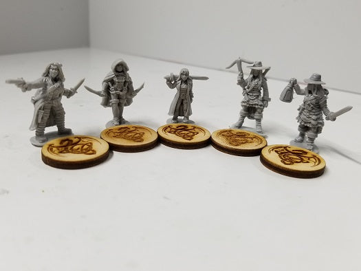 Perfect Six Miniatures - PS001 - The Night Hunters - 28mm