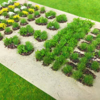 Serious-Play - Allotment Crops Set 02 Spring Flower Crop Static Grass Tufts