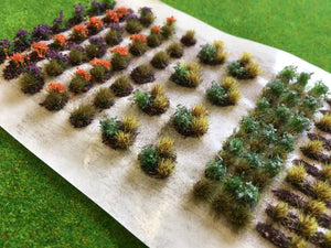 Serious-Play - Allotment Crops Set 05 Late Season Flower Static Grass Tufts