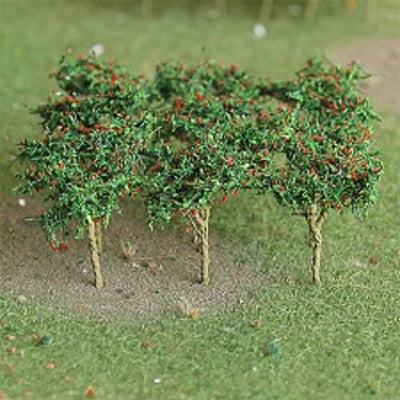 MP Scenery Products 70108 - HO Scale - Apple Saplings 1-3/8